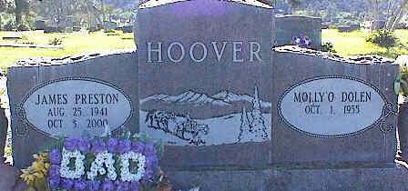 HOOVER, MOLLY - La Plata County, Colorado | MOLLY HOOVER - Colorado Gravestone Photos