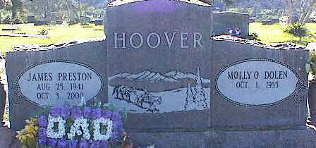 HOOVER, JAMES PRESTON - La Plata County, Colorado | JAMES PRESTON HOOVER - Colorado Gravestone Photos