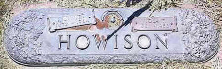 HOWISON, DYWITT? - La Plata County, Colorado   DYWITT? HOWISON - Colorado Gravestone Photos