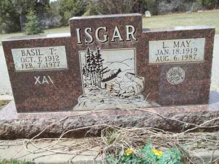 ISGAR, BASIL T. - La Plata County, Colorado | BASIL T. ISGAR - Colorado Gravestone Photos