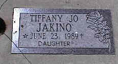 JAKINO, TIFFANY JO - La Plata County, Colorado   TIFFANY JO JAKINO - Colorado Gravestone Photos
