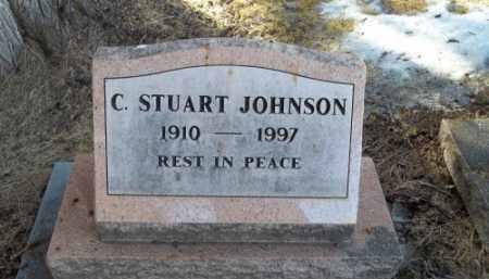 JOHNSON, C. STUART - La Plata County, Colorado | C. STUART JOHNSON - Colorado Gravestone Photos