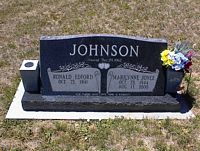 JOHNSON, RONALD EDFORD - La Plata County, Colorado | RONALD EDFORD JOHNSON - Colorado Gravestone Photos