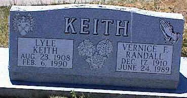 KEITH, VERNICE F. - La Plata County, Colorado | VERNICE F. KEITH - Colorado Gravestone Photos