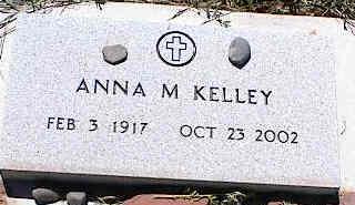 KELLEY, ANNA M. - La Plata County, Colorado   ANNA M. KELLEY - Colorado Gravestone Photos