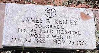 KELLEY, JAMES R. - La Plata County, Colorado | JAMES R. KELLEY - Colorado Gravestone Photos