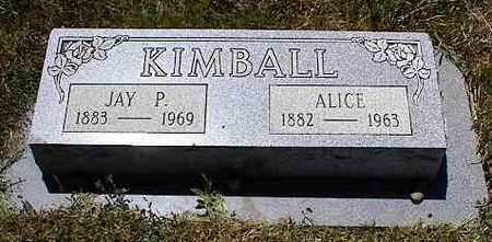 KIMBALL, JAY P. - La Plata County, Colorado | JAY P. KIMBALL - Colorado Gravestone Photos