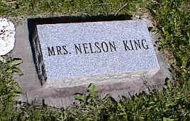 KING, MRS. NELSON - La Plata County, Colorado   MRS. NELSON KING - Colorado Gravestone Photos