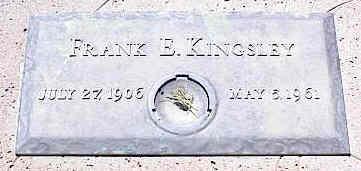KINGSLEY, FRANK E. - La Plata County, Colorado   FRANK E. KINGSLEY - Colorado Gravestone Photos
