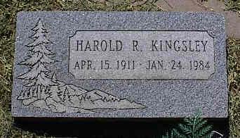 KINGSLEY, HAROLD R. - La Plata County, Colorado   HAROLD R. KINGSLEY - Colorado Gravestone Photos