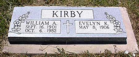 KIRBY, WILLIAM A. - La Plata County, Colorado | WILLIAM A. KIRBY - Colorado Gravestone Photos