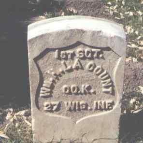 LA COUNT, WM. H. - La Plata County, Colorado   WM. H. LA COUNT - Colorado Gravestone Photos