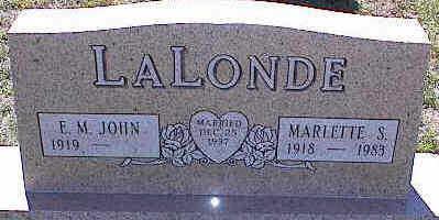 LALONDE, MARLETTE S. - La Plata County, Colorado | MARLETTE S. LALONDE - Colorado Gravestone Photos