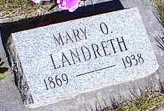 LANDRETH, MARY O. - La Plata County, Colorado | MARY O. LANDRETH - Colorado Gravestone Photos