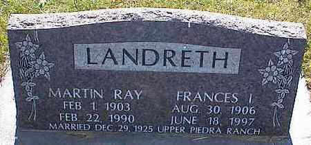 LANDRETH, MARTIN RAY - La Plata County, Colorado | MARTIN RAY LANDRETH - Colorado Gravestone Photos