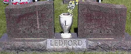 LEDFORD, CHARLEY S. - La Plata County, Colorado | CHARLEY S. LEDFORD - Colorado Gravestone Photos