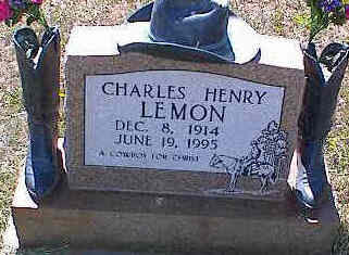 LEMON, CHARLES HENRY - La Plata County, Colorado | CHARLES HENRY LEMON - Colorado Gravestone Photos