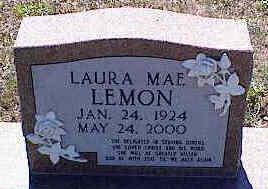 LEMON, LAURA MAE - La Plata County, Colorado   LAURA MAE LEMON - Colorado Gravestone Photos