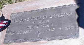 LOBATO, CUILLERMO H. - La Plata County, Colorado | CUILLERMO H. LOBATO - Colorado Gravestone Photos