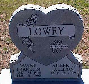 LOWRY, WAYNE FRANKLIN - La Plata County, Colorado | WAYNE FRANKLIN LOWRY - Colorado Gravestone Photos
