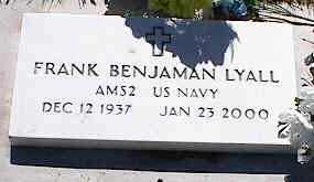LYALL, FRANK BENJAMIN - La Plata County, Colorado | FRANK BENJAMIN LYALL - Colorado Gravestone Photos