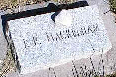 MACKELHAM, J. P. - La Plata County, Colorado | J. P. MACKELHAM - Colorado Gravestone Photos