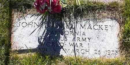 MACKEY, JOHN D. - La Plata County, Colorado | JOHN D. MACKEY - Colorado Gravestone Photos