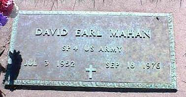 MAHAN, DAVID EARL - La Plata County, Colorado | DAVID EARL MAHAN - Colorado Gravestone Photos