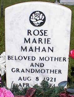 MAHAN, ROSE MARIE - La Plata County, Colorado | ROSE MARIE MAHAN - Colorado Gravestone Photos