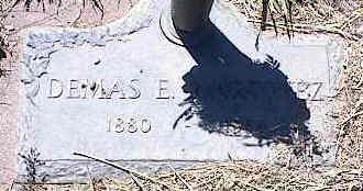 MARTINEZ, DEMAS E. - La Plata County, Colorado | DEMAS E. MARTINEZ - Colorado Gravestone Photos
