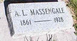 MASSENGALE, A. L. - La Plata County, Colorado | A. L. MASSENGALE - Colorado Gravestone Photos