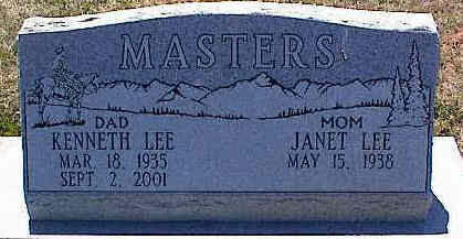 MASTERS, JANET LEE - La Plata County, Colorado | JANET LEE MASTERS - Colorado Gravestone Photos