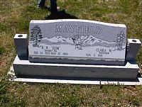 """MAYFIELD, R. H. """"SLIM"""" - La Plata County, Colorado   R. H. """"SLIM"""" MAYFIELD - Colorado Gravestone Photos"""