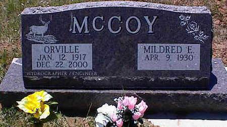 MCCOY, ORVILLE - La Plata County, Colorado   ORVILLE MCCOY - Colorado Gravestone Photos
