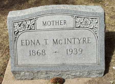MCINTYRE, EDNA T. - La Plata County, Colorado | EDNA T. MCINTYRE - Colorado Gravestone Photos