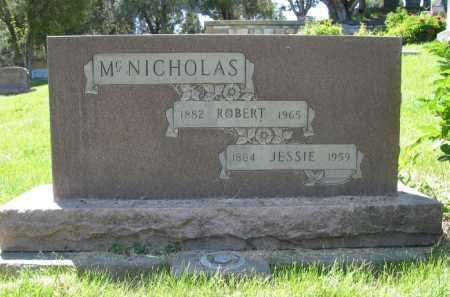 MCNICHOLAS, JESSIE - La Plata County, Colorado   JESSIE MCNICHOLAS - Colorado Gravestone Photos