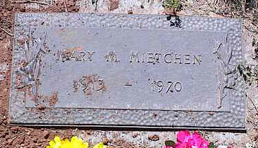 MIETCHEN, MARY M. - La Plata County, Colorado | MARY M. MIETCHEN - Colorado Gravestone Photos