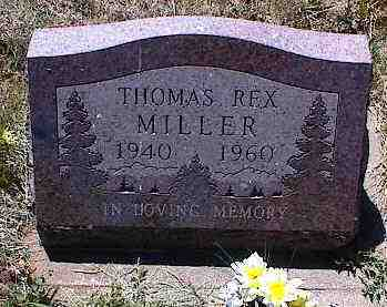 MILLER, THOMAS REX - La Plata County, Colorado | THOMAS REX MILLER - Colorado Gravestone Photos