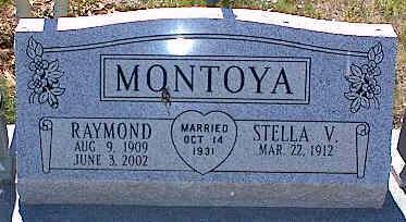 MONTOYA, STELLA V. - La Plata County, Colorado   STELLA V. MONTOYA - Colorado Gravestone Photos