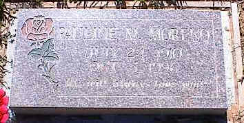 MORENO, PAULINE M. - La Plata County, Colorado | PAULINE M. MORENO - Colorado Gravestone Photos
