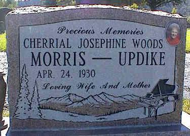 MORRIS-UPDIKE, CHERRIAL JOSEPHINE WOODS - La Plata County, Colorado | CHERRIAL JOSEPHINE WOODS MORRIS-UPDIKE - Colorado Gravestone Photos