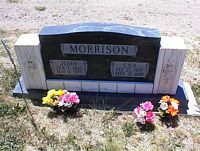 MORRISON, ENA - La Plata County, Colorado | ENA MORRISON - Colorado Gravestone Photos