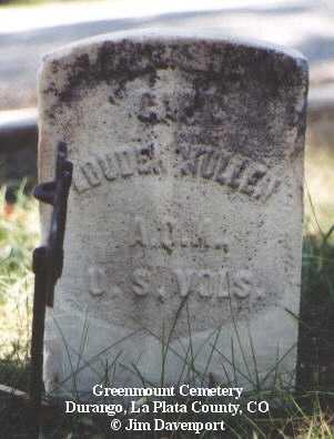 MULLEN, LOUDIN - La Plata County, Colorado | LOUDIN MULLEN - Colorado Gravestone Photos