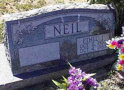 NEIL, ETHEL I. - La Plata County, Colorado | ETHEL I. NEIL - Colorado Gravestone Photos