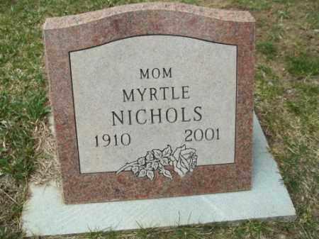 NICHOLS, MYRTLE - La Plata County, Colorado   MYRTLE NICHOLS - Colorado Gravestone Photos