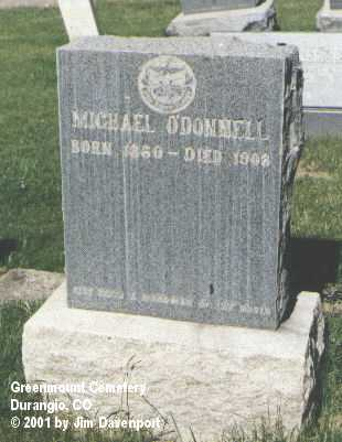 O'DONNELL, MICHAEL - La Plata County, Colorado | MICHAEL O'DONNELL - Colorado Gravestone Photos