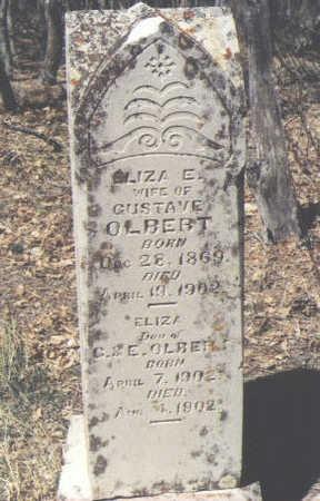 OLBERT, ELIZA - La Plata County, Colorado   ELIZA OLBERT - Colorado Gravestone Photos