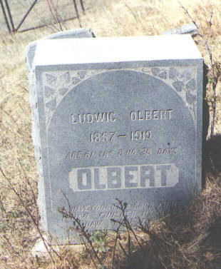 OLBERT, LUDWIG - La Plata County, Colorado | LUDWIG OLBERT - Colorado Gravestone Photos