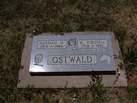 OSTWALD, W. VIRGINIA - La Plata County, Colorado | W. VIRGINIA OSTWALD - Colorado Gravestone Photos