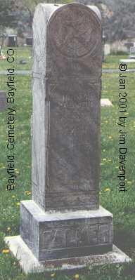 PALMER, JOHN A. - La Plata County, Colorado | JOHN A. PALMER - Colorado Gravestone Photos